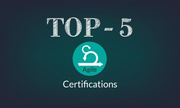Top 5 Agile Certifications | Best Agile Courses
