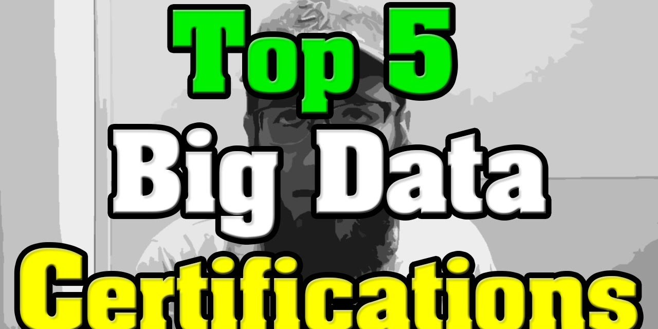 🔻Top 5 Big Data Certification🔺