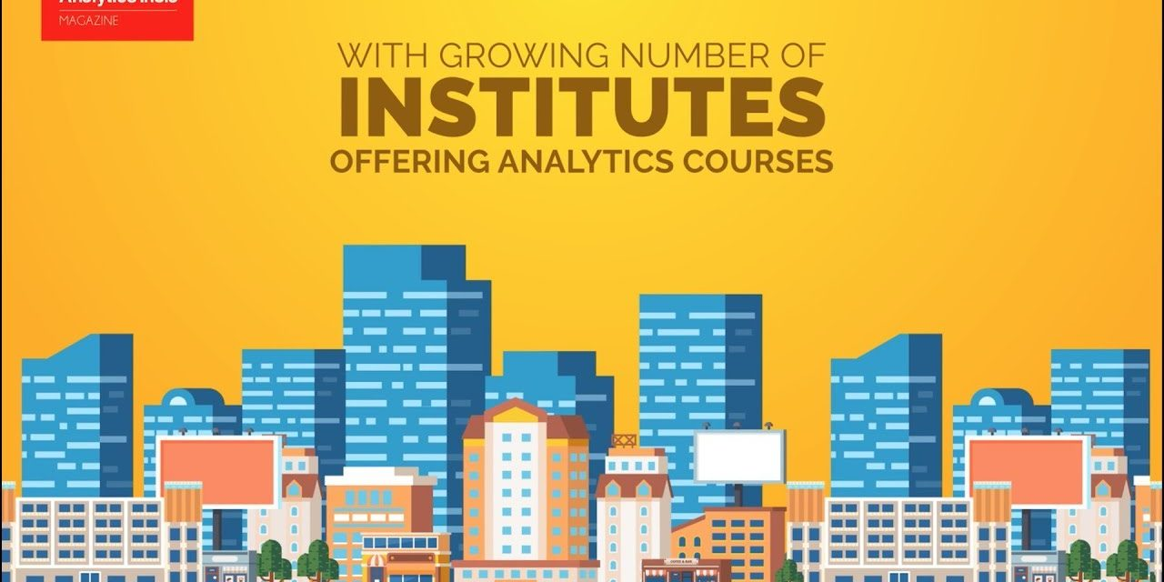 Top 10 Analytics / Data Science Training Institutes In India- Ranking 2017