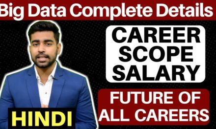 Big Data For Beginners | Big Data Analytics | Hadoop | Courses | Scope | Salary