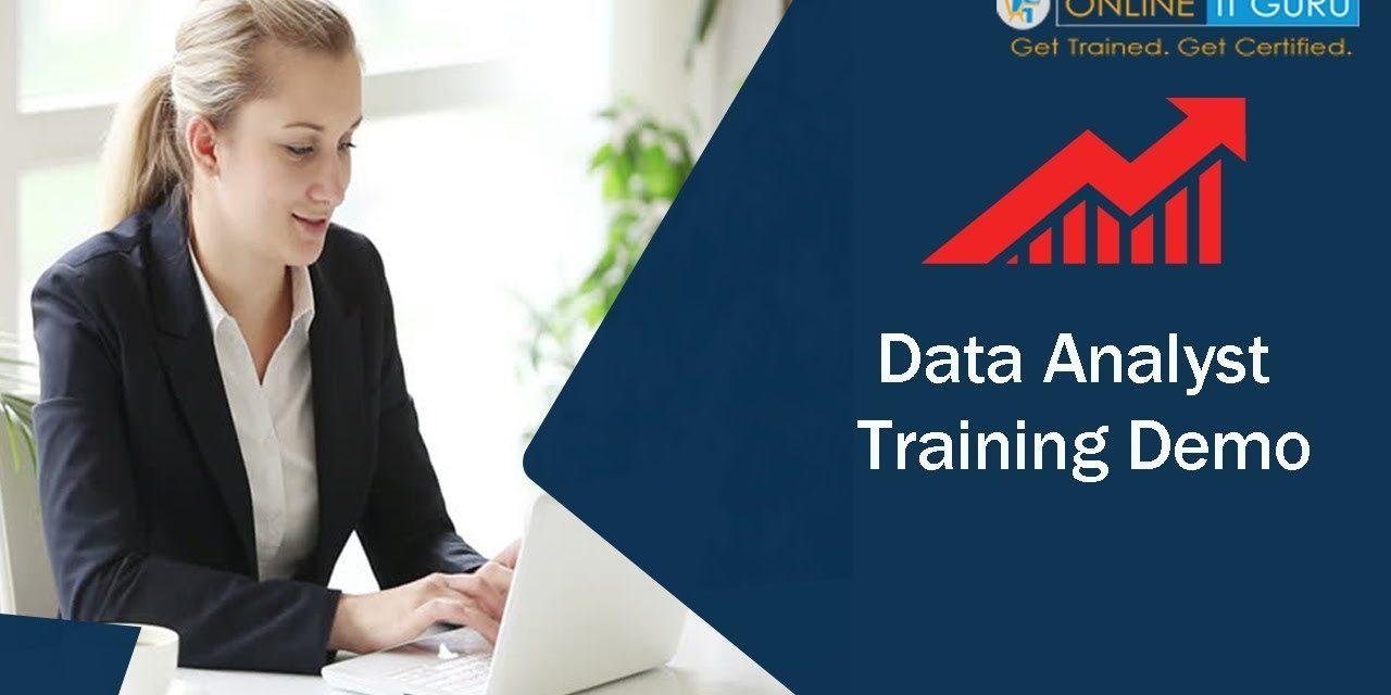 Data analytics introduction 2018 | cbap | OnlineItGuru