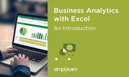 Introduction To Business Analytics With Excel Certification   Simplilearn