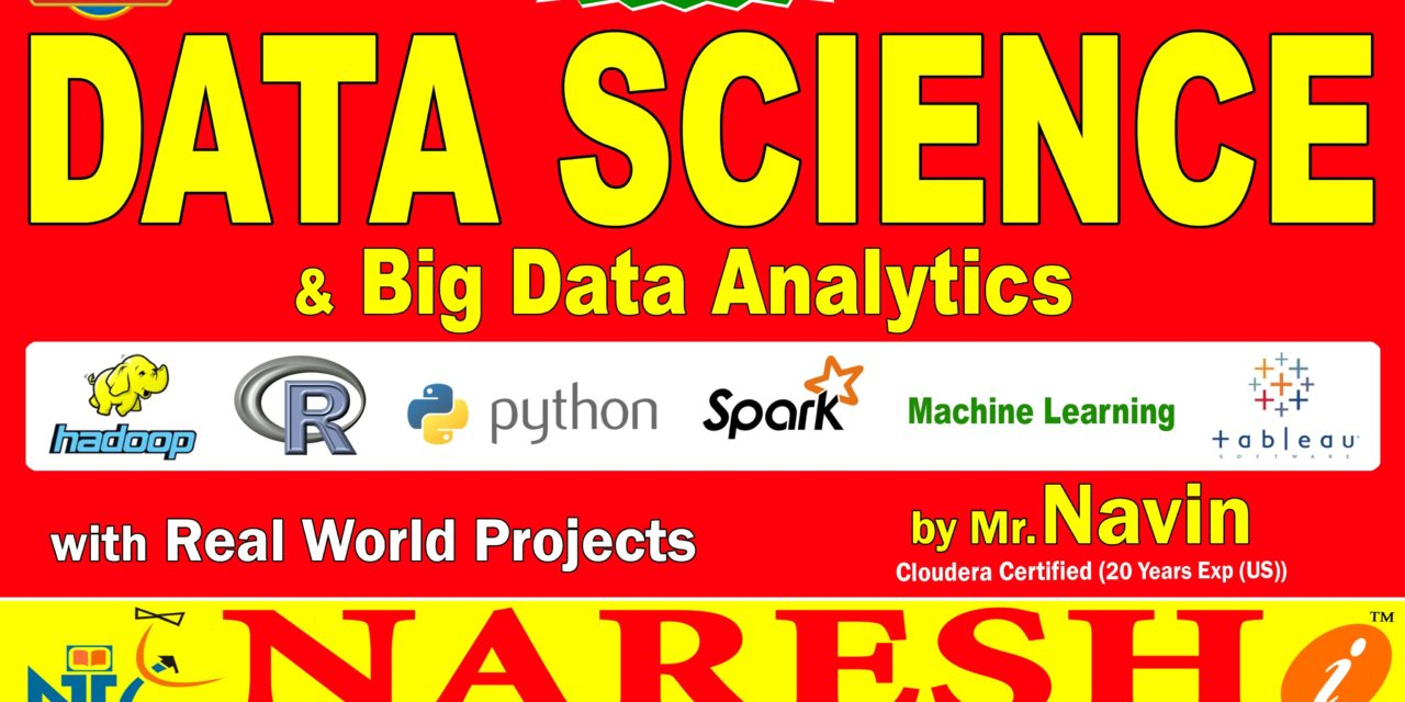 Data Science and Big Data Analytics | Data Science Training | Mr. Navin