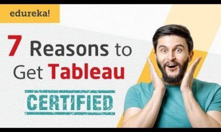7 Reasons To Get Tableau Certified | Tableau Certification I Tableau Training | Edureka