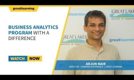 Business Analytics Program with a difference I BACP Great Lakes