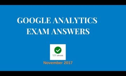 Google Analytics Certification Exam Answers GAIQ 100% correct November 2017