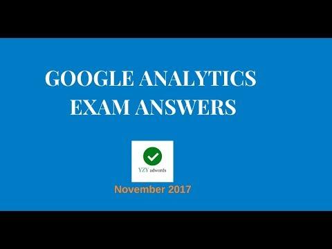 Google Analytics Certification Exam Answers GAIQ 100% correct November 2017