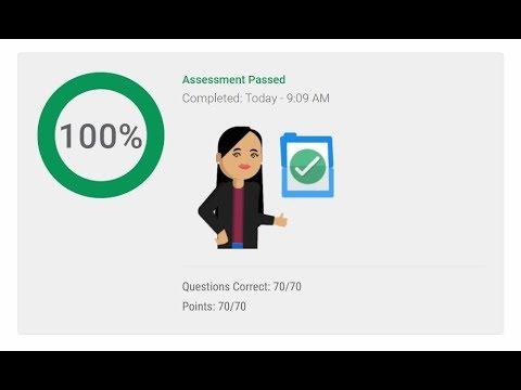 Live Pass Google Analytics Exam April 2018