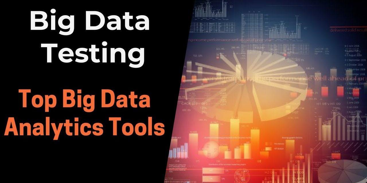 Top Big Data Analytics Tools