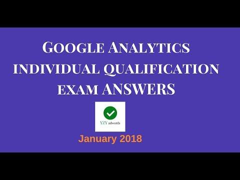 Google Analytics Certification Exam Answers January 2018