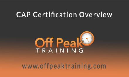 CAP Certification Overview