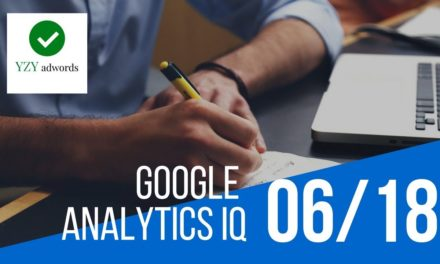 Live Pass Google Analytics Individual Qualification Exam June 2018