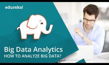 Big Data Analytics Tutorial | Big Data Analytics for Beginners | Hadoop Tutorial | Edureka