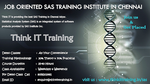SAS Training in Chennai