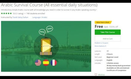 Arabic Survival Course All essential daily situations