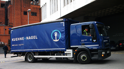Kuehne   Nagel Truck