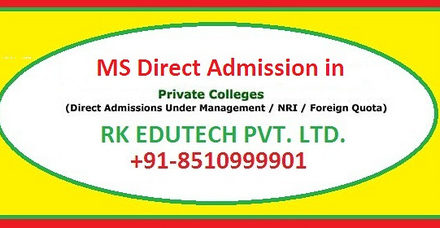 M.S. (Master of Surgery) Admission By Dint of Edutech Admission Consultant