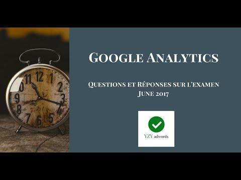 L'examen Google Analytics  100% correctes  June 2017