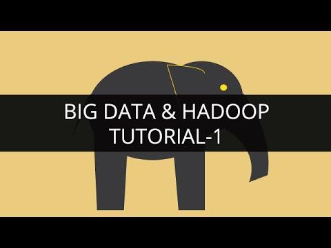 Big Data and Hadoop 1 | Hadoop Tutorial 1 | Big Data Tutorial 1 | Hadoop Tutorial for Beginners – 1