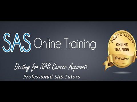 SAS Online Training Free Demo Part1 – PST Analytics Must Watch