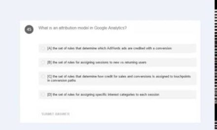 Latest 2017 Google Analytics exam questions (GAIQ) for certification – Real Question