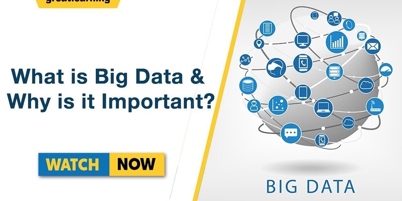 What is Big Data and Why it is Important? | Big Data Analytics