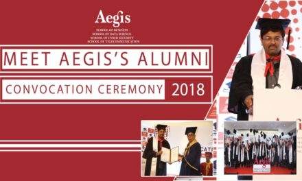 Pallab Bhattacharya, Aegis Alumni sharing experience @Aegis School of Data Science