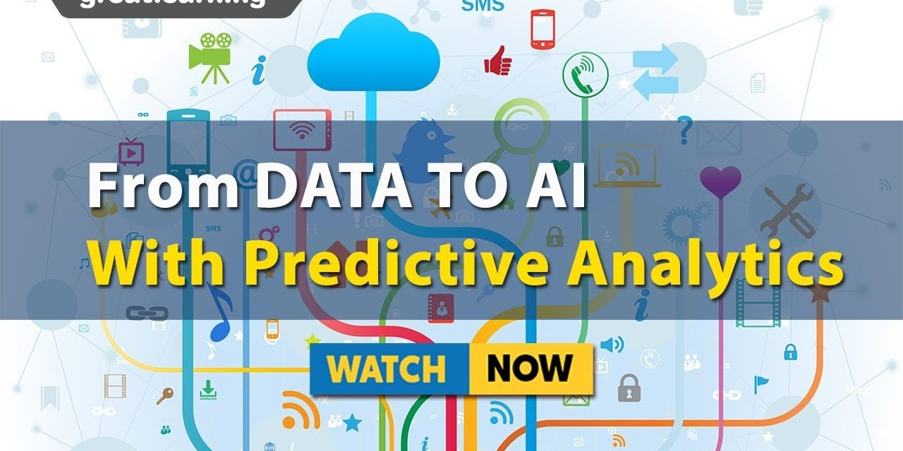 From Data to AI with Predictive Analytics | Analytics Masterclass