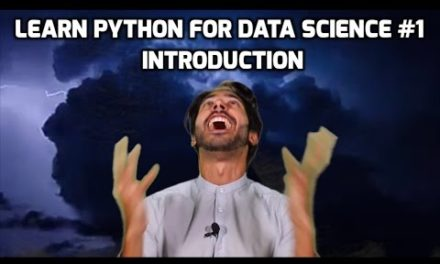 Introduction – Learn Python for Data Science #1