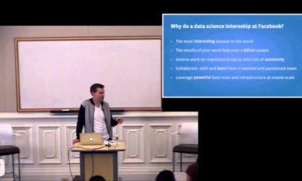 Career Talk: Data Analytics at Facebook