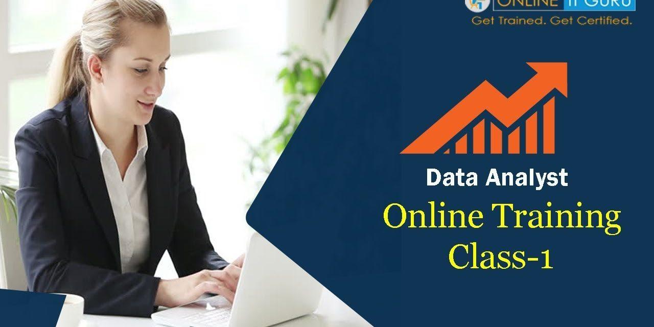 Data Analyst Training 2018 | Business Analytics | OnlineItGuru