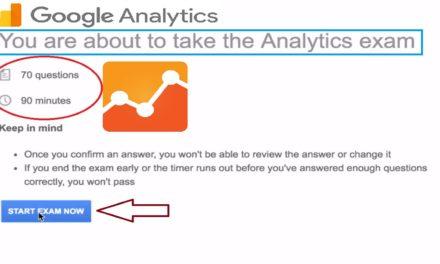 97% Pass Google Analytics Certification Exam Google Analytics Individual (GAIQ) 2017