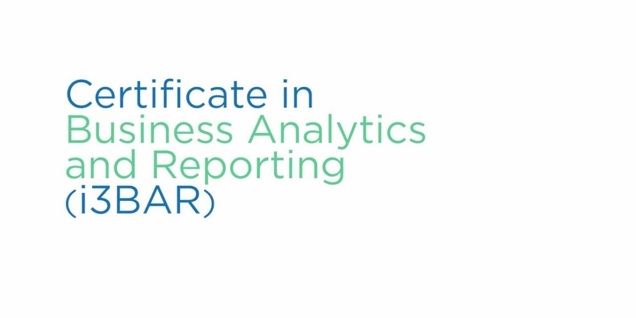 CPA Ontario in Certificate Business Analytics Reporting (i3BAR)