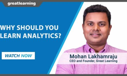Why should you learn Analytics?