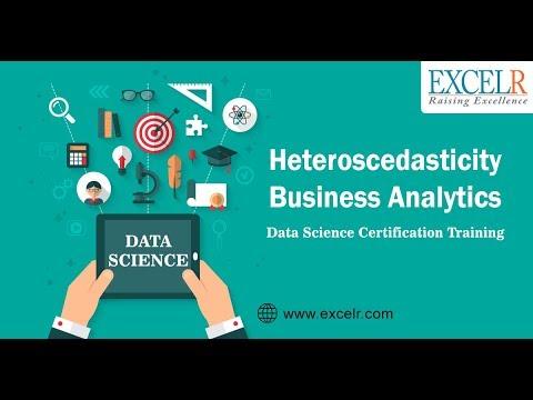 Heteroscedasticity: Detection of Heteroscedasticity | Remedial Measures | Business Analytics |ExcelR
