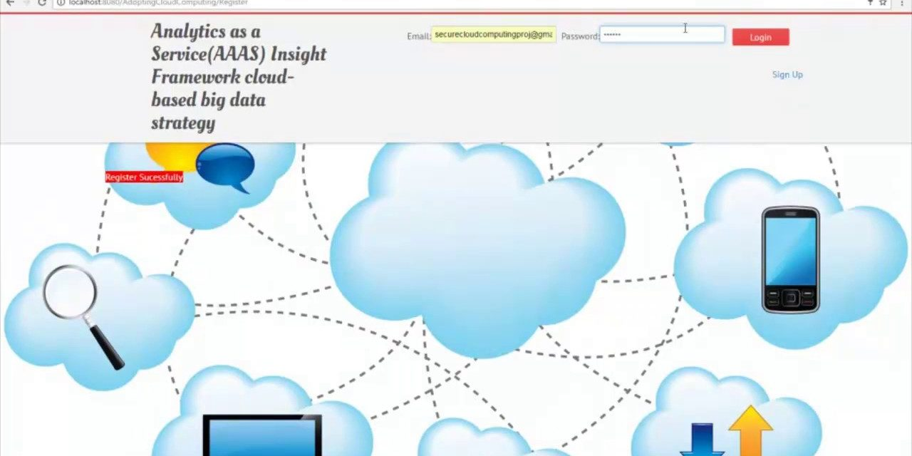 Analytics as a service cloud based big data projects