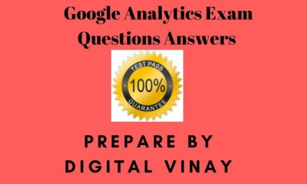 Google Analytics Certification Exam Questions And Answers| SEP 2017