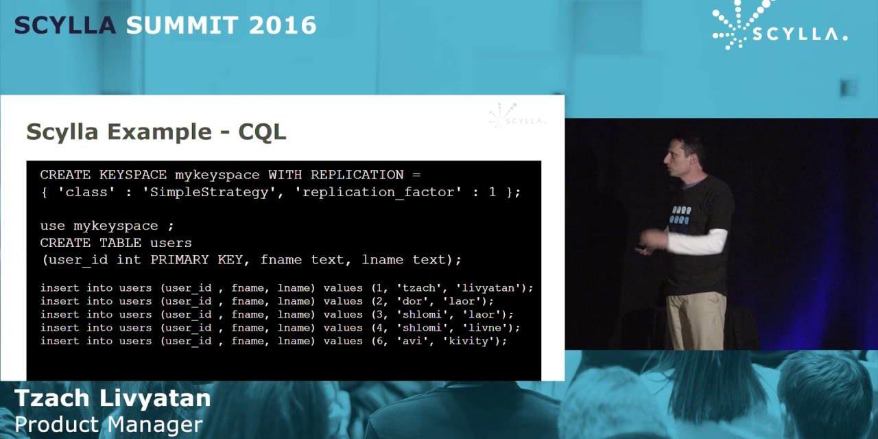 Analytics Show Time: Spark and Presto Powered by Scylla | Scylla Summit 2016