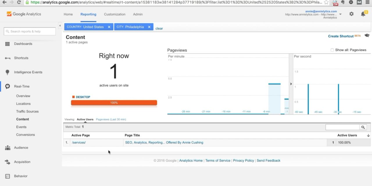 How To Test Google Analytics Using Real Time Reports Certification