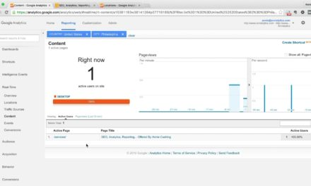 How To Test Google Analytics Using Real-Time Reports