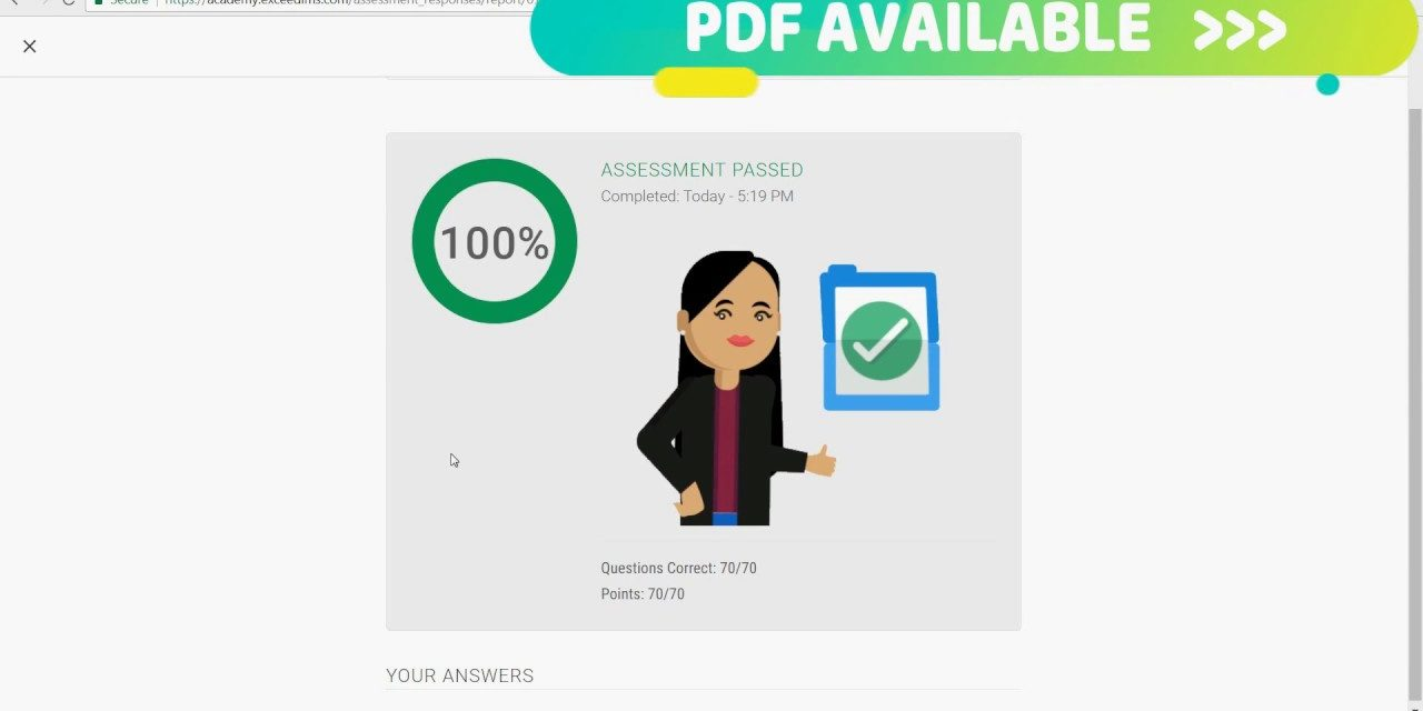 Google Analytics Assessment exam answers   Academy for ads