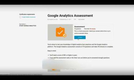 Latest Google Analytics Exam Q&A 2018 April- 100% Correct
