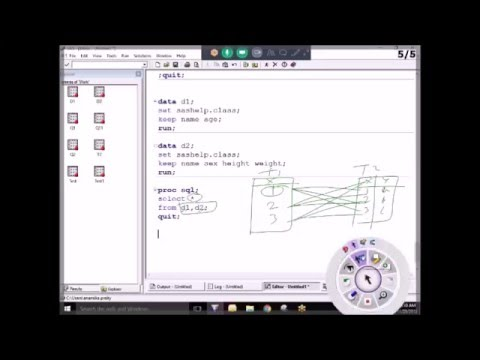 PST Analytics – Joins in Proc SQL -Advance SAS Online Training