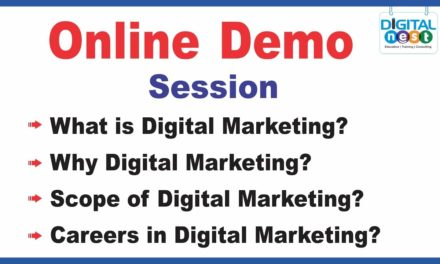 Digital Marketing Course Online training Demo Tutorial | Digital nest