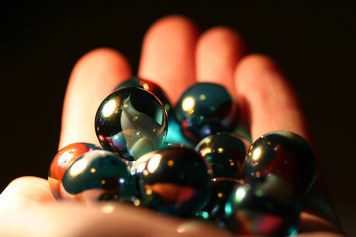 Marbles in hand 2