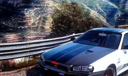 Gear4Gamers LE Nissan GT-R 34 BP Racing Sneak Peek 1