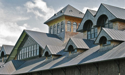 Shelburne Farms (1886) – Farm Barn (1888-90) – roofline detail