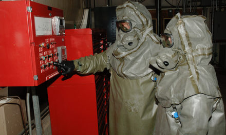 ECBC Protection Factor Toxic Test Chamber (PFTC)