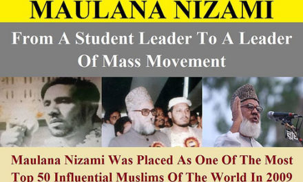 MAULANA NIZAMI- FROM A STUDENT LEADER TO A LEADER OF MASS MOVEMENT