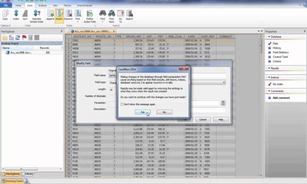 Intro to Audit Analytics Lecture 5: basic data analysis